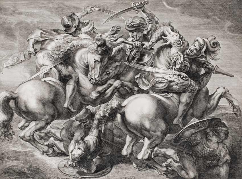 Französische Graphik Ludwig XIV Ausstellung