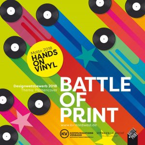 Battle of Print: Hands on Vinyl