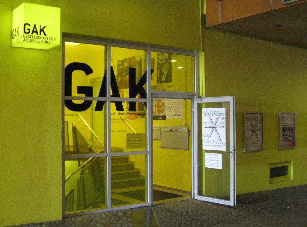 GAK Gesellschaft für Aktuelle Kunst - Museen in Bremen