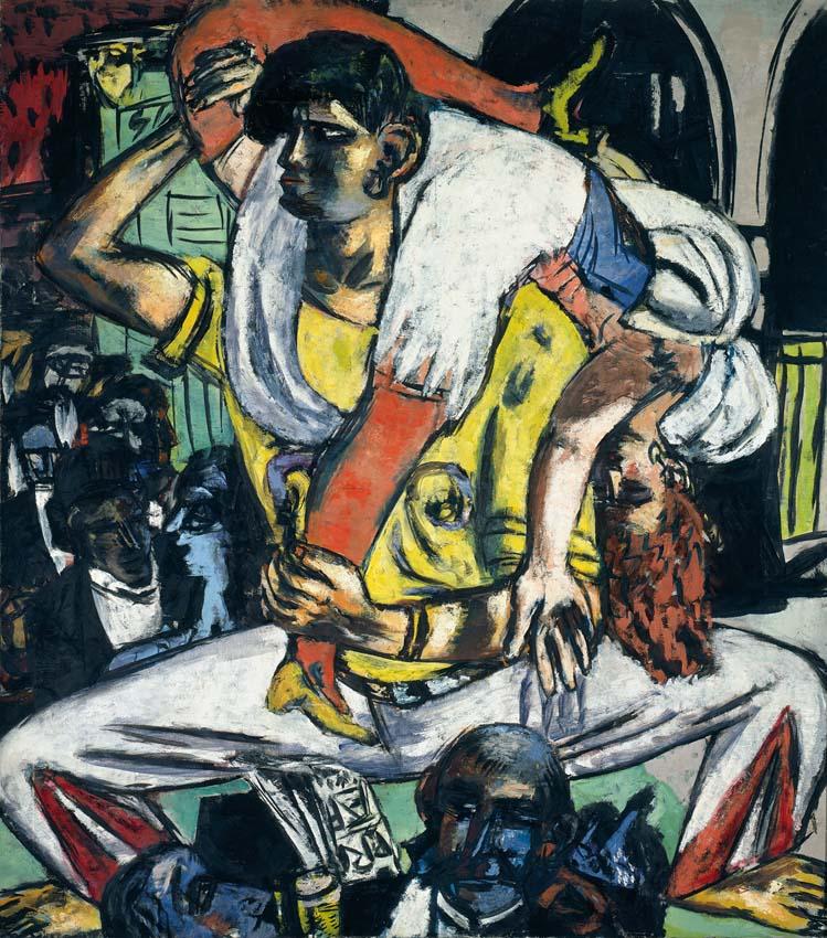Max Beckmann, Apachentanz, 1938, Kunsthalle Bremen – Der Kunstverein in Bremen