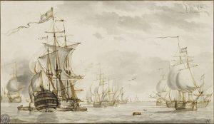 Kühles Licht und weite See.  Niederländische Meisterzeichnungen und ihre Restaurierung