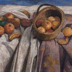 Paula Modersohn-Becker, Stillleben mit Äpfeln und Bananen, 1905, Kunsthalle Bremen – Der Kunstverein in Bremen