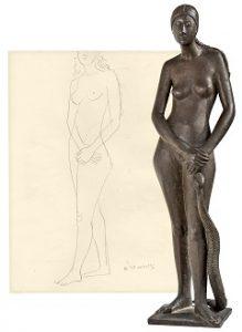 Ausstellung auswärts: Gerhard Marcks – Der Bildhauer denkt! Von der Zeichnung zur Plastik