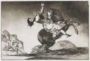 Eine Grafik von Goya